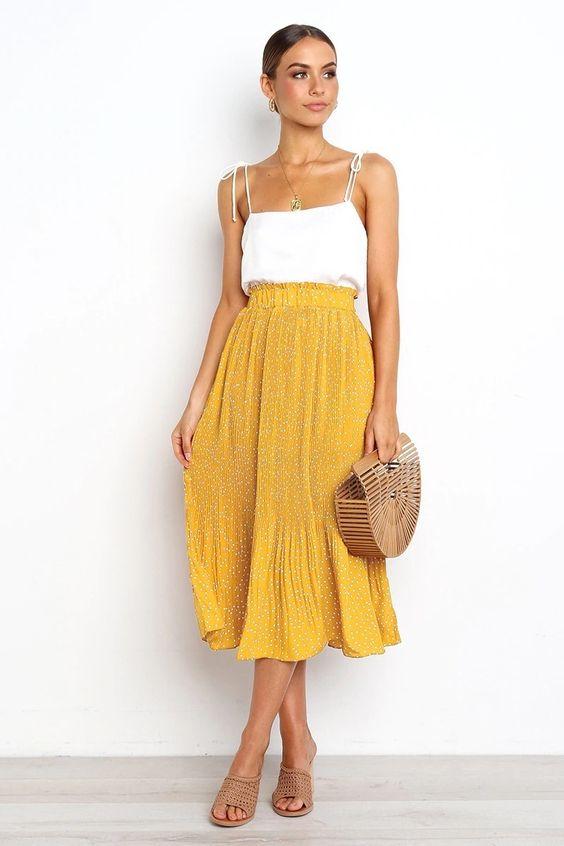 collanarosa Lunga collana di perle e ambra gialla