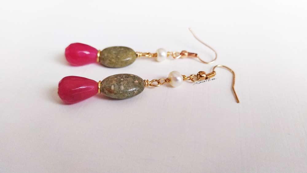 IMG_20201024_151911_1 Pendenti con goccia fucsia e perla