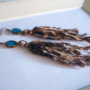 orecchini blu estate