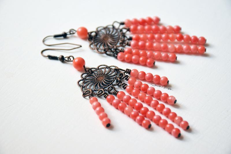 DSC_1444 FIligrana e beads rosa corallo