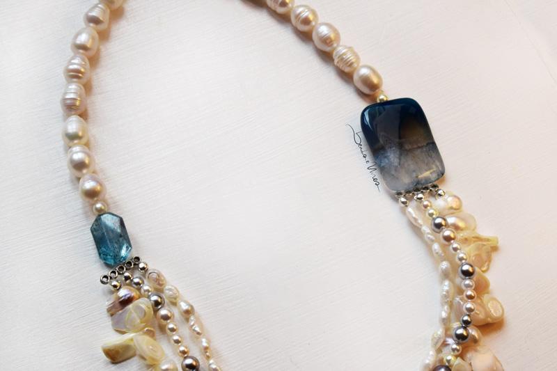 DSC_1670 Collana girocollo di perle fantasia