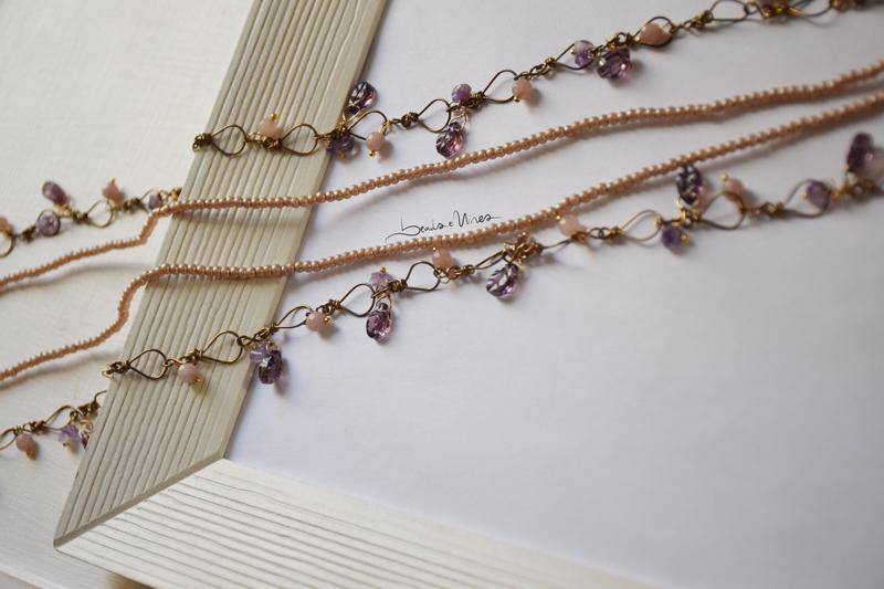 DSC_2374 Lunga collana con foglie viola