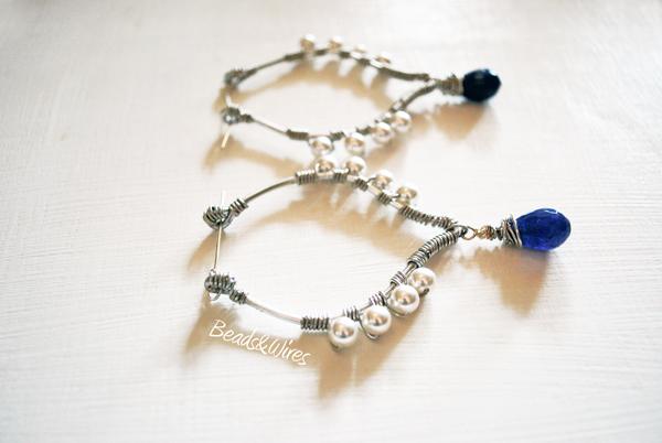 DSC_8932 Perle e filo metallico