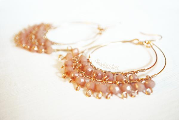 DSC_9105 Beads e orecchini a cerchio