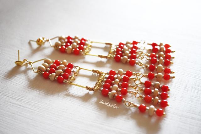 Immagine-ott2010-045 Orecchini lunghi Red Beads