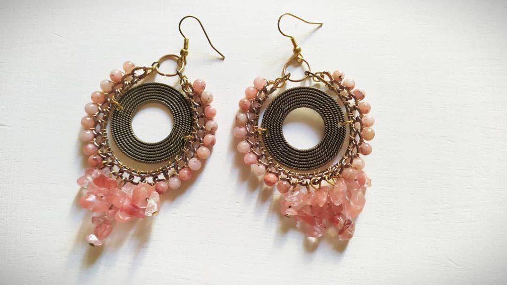 orecchinirosa-1024x576 Pink! Orecchini rosa pastello